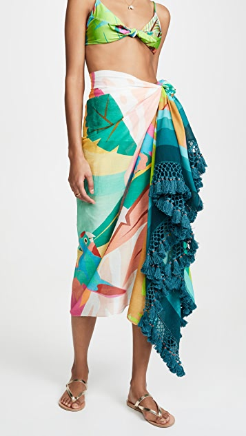FARM Rio Tropical Paradise Sarong