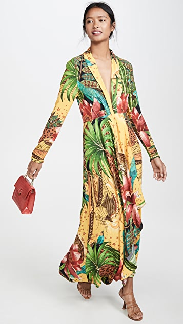 FARM Rio Tropical Dreams V Neck Maxi Dress