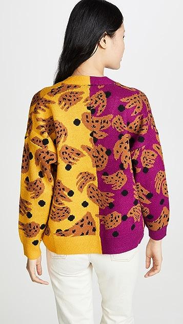 FARM Rio Mix Bananas Knit Cardigan