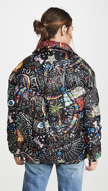 FARM Rio Двусторонняя пуховая куртка Borgodo