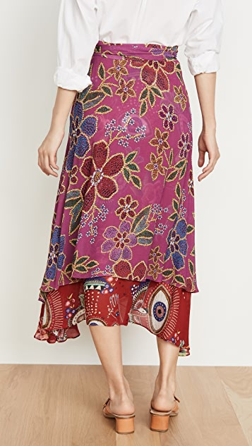FARM Rio Mystic Flowers Skirt