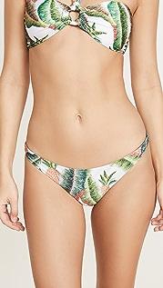 FARM Rio 森林棕榈比基尼泳裤
