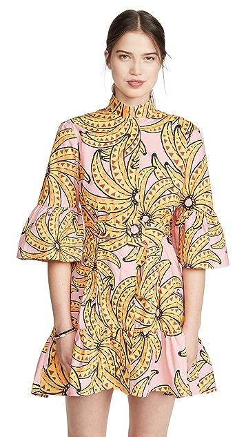 FARM Rio Banana Floral Mini Dress
