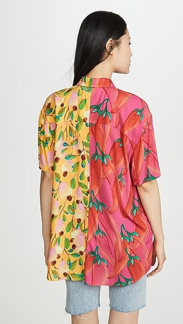 Farm Rio Garden Mix Boy 衬衫