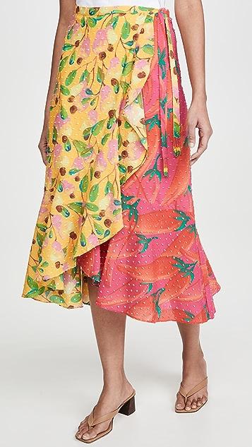 FARM Rio Garden Mix 裹身半身裙