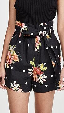 Nanaju Floral Shorts