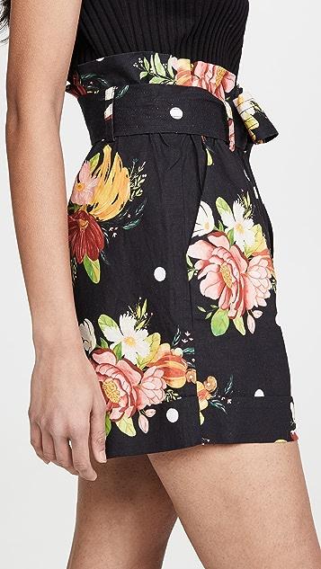 FARM Rio Nanaju Floral Shorts