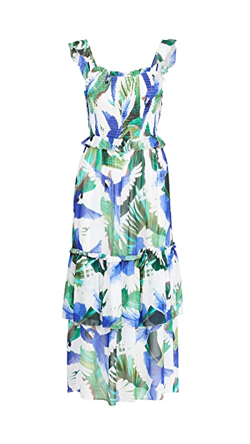 FARM Rio Blue Wind Maxi Dress