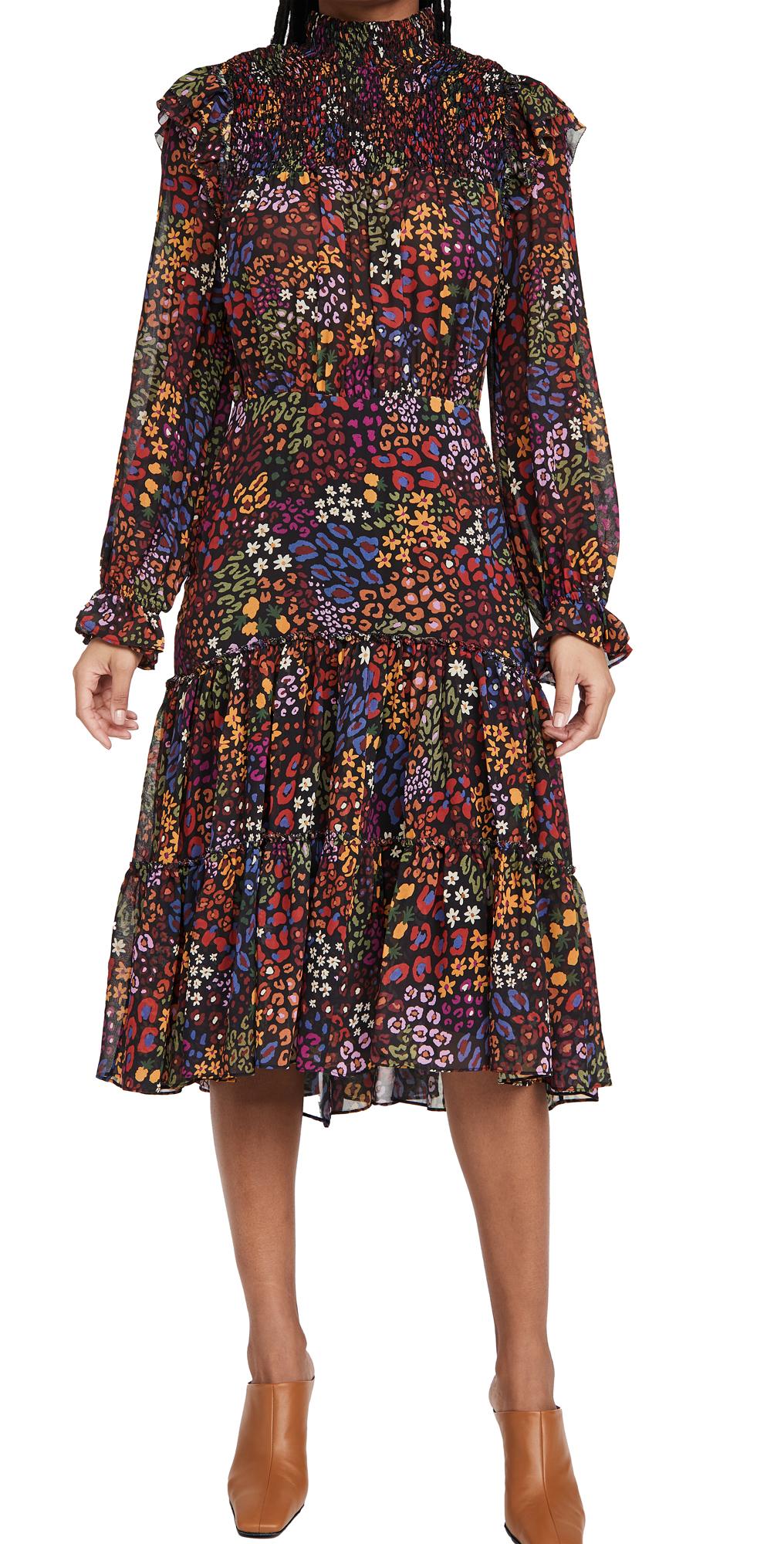 FARM Rio Wild Mix Midi Dress