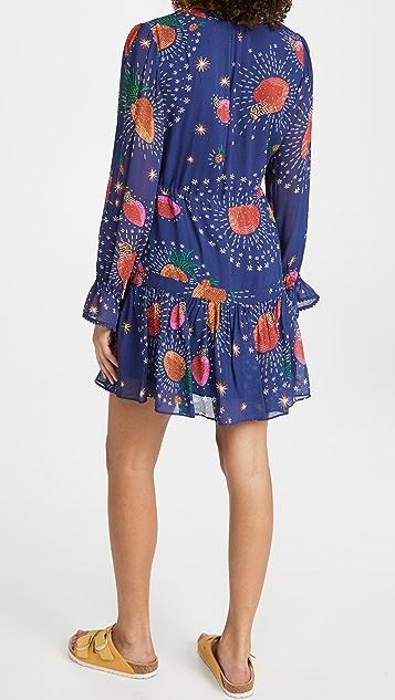 FARM Rio Cosmic Fruit Dress