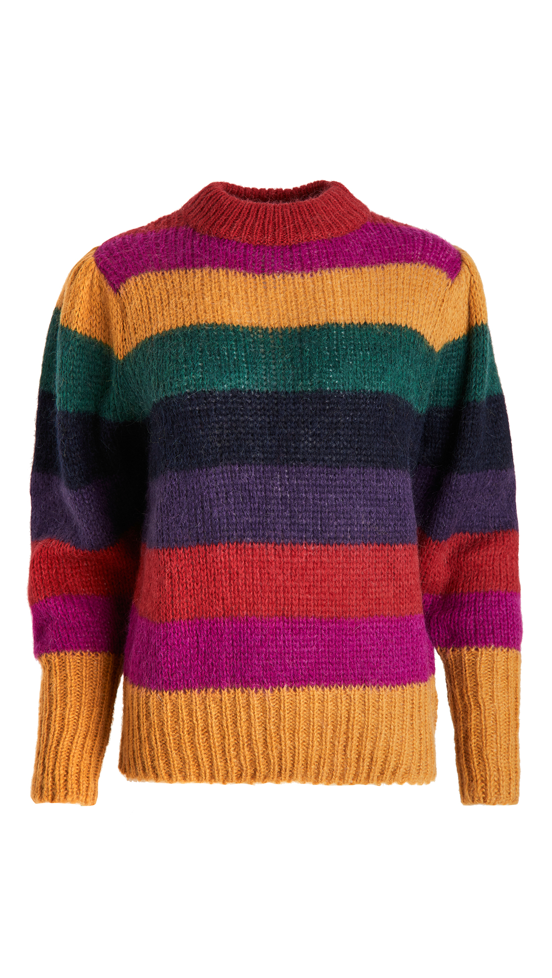 FARM Rio Striped Sweater