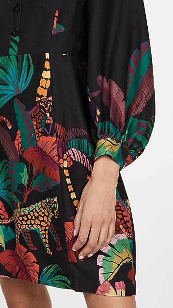 FARM Rio Jungle Colors 迷你连衣裙