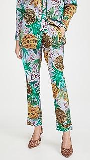 FARM Rio Lilac Mixed Fruits Pajama Pants