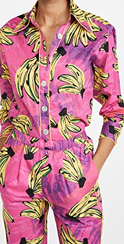 FARM Rio - Tie Dye Bananas Pajama Shirt