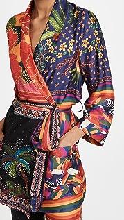 FARM Rio Mix Scarves Kimono