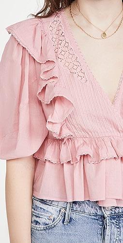 FARM Rio - Blush Pink Blouse