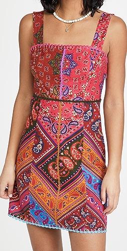 FARM Rio - Colorful Bandana Mini Dress