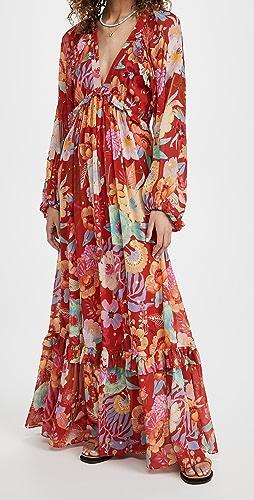 FARM Rio - Hudson Floral Maxi Dress