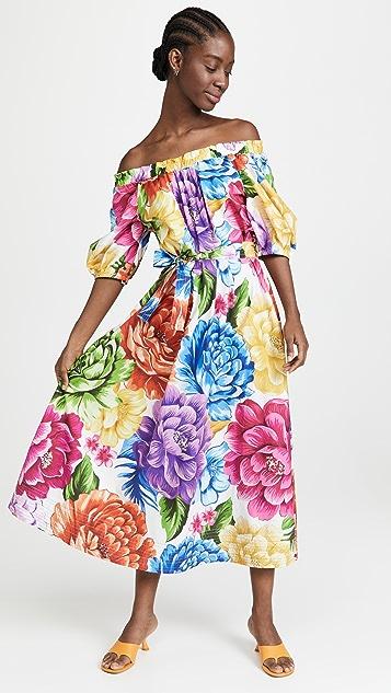 FARM Rio Rainbow Chita Maxi Dress