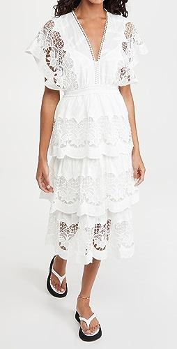 FARM Rio - Richelier Midi Dress