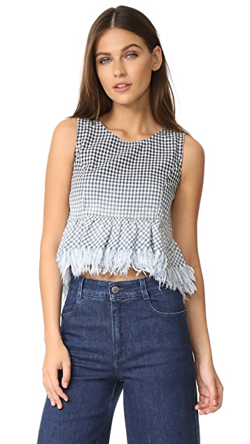 Father's Daughter Wynona Peplum Top