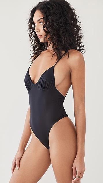 Frankies Bikinis Otis One Piece Swimsuit