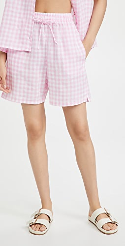 Frankies Bikinis - Lou Gingham Shorts
