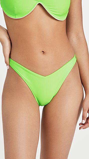 Frankies Bikinis Enzo 罗纹泳裤