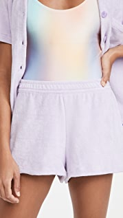 Frankies Bikinis Coco 毛圈布短裤