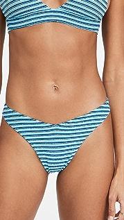 Frankies Bikinis Barb 毛圈布泳裤
