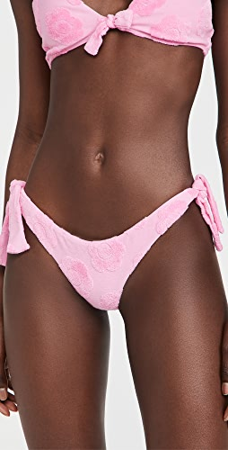 Frankies Bikinis - Falcon Terry Jacquard Bikini Bottoms