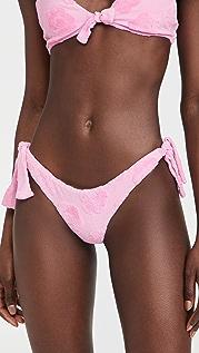 Frankies Bikinis Falcon Terry Jacquard Bikini Bottoms