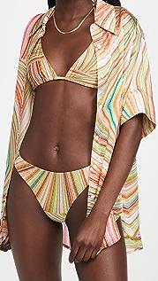 Frankies Bikinis Fifi 雪纺上衣