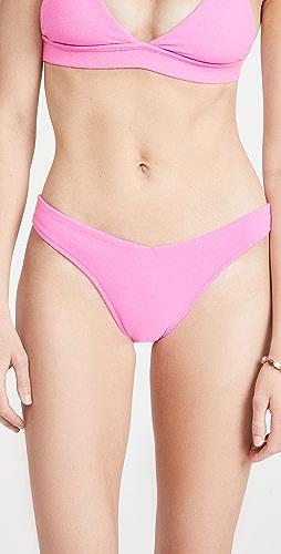 Frankies Bikinis - Enzo Terry Bikini Bottoms