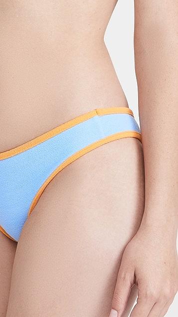 Frankies Bikinis Sawyer 毛圈布比基尼泳裤