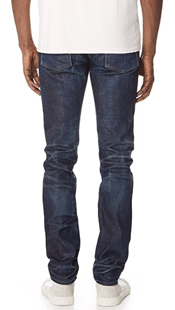Fabric Brand & Co. Doran Selvedge Slim Fit Denim Jeans