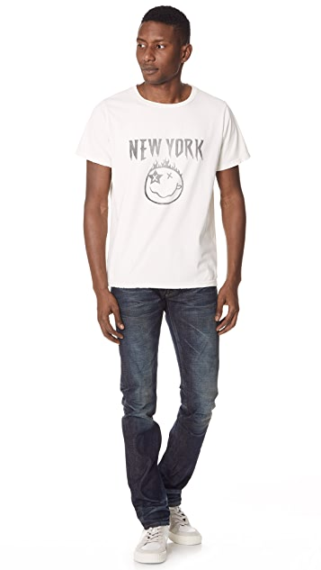 Fabric Brand & Co. Doran Selvedge Slim Fit Denim Jeans