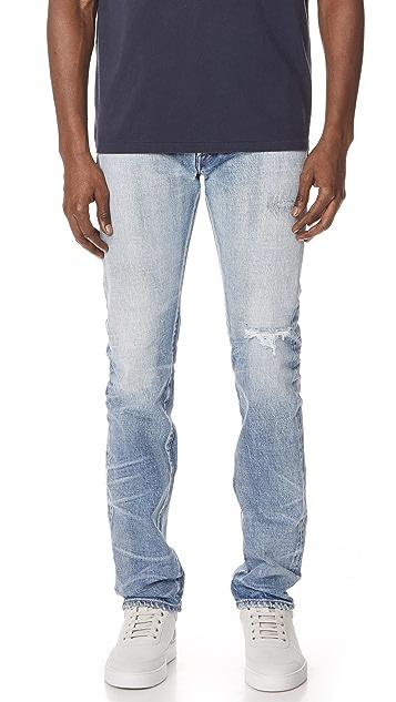 Fabric Brand & Co. Ezra Selvedge Slim Fit Jeans