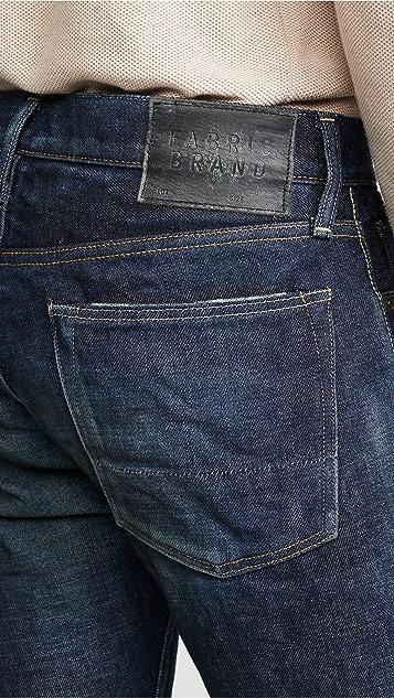 Fabric Brand & Co. Doran Selvedge Slim Fit Jeans