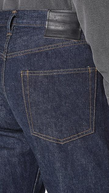 Freemans Sporting Club Straight Leg Denim Jeans
