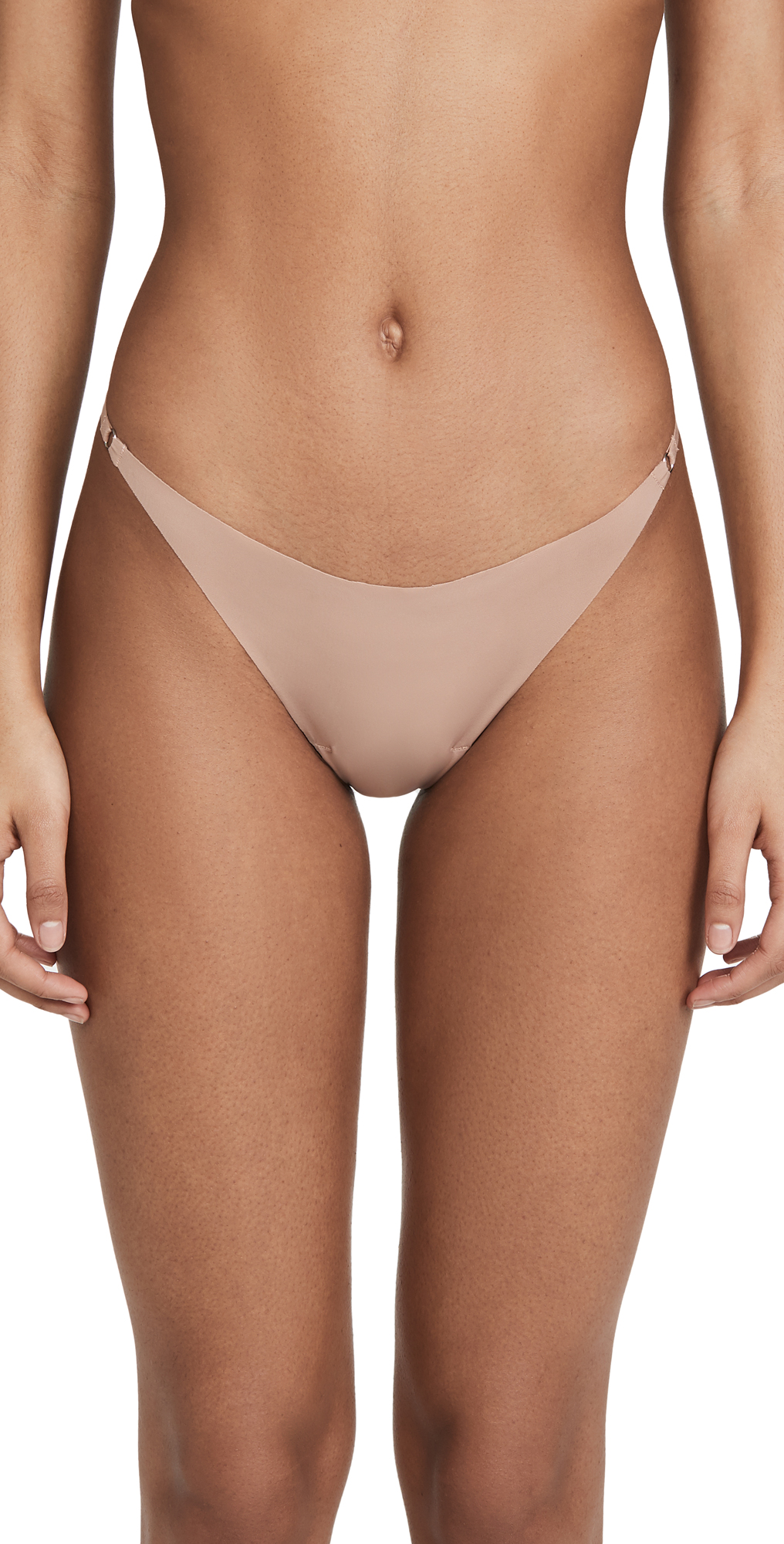 Fleur du Mal Seamless Lace Back Bikini Briefs