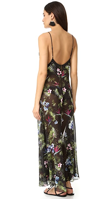 Fleur du Mal Tropical Slip Dress