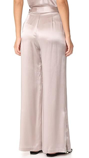 Fleur du Mal Pants with Side Buttons