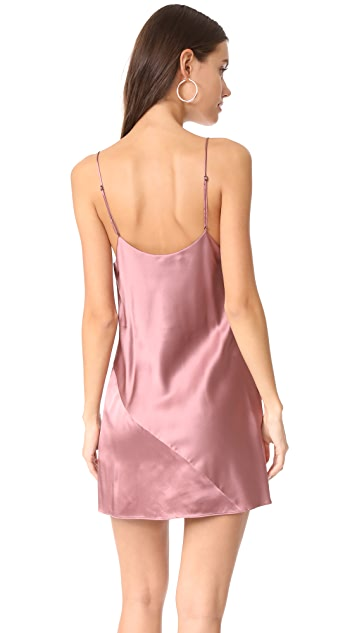 Fleur du Mal Mini Slip Dress