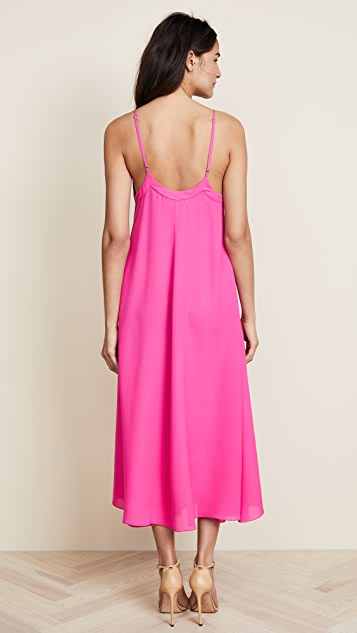 Fleur du Mal Full Sweep Maxi Dress