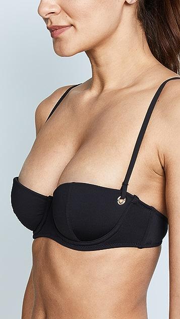 Fleur du Mal Balconette Bikini Top
