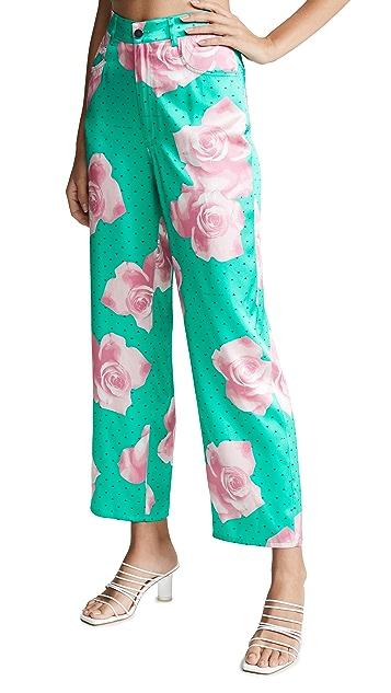 Fleur du Mal Silk Jeans