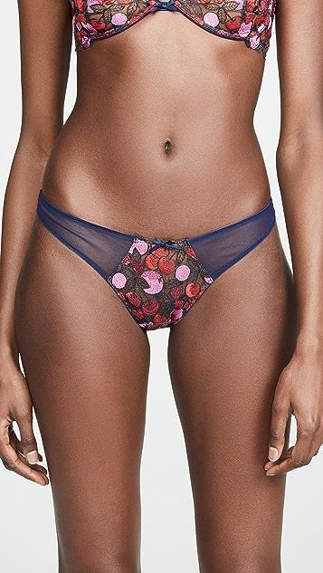 Fleur du Mal Cherry Lace Cheeky Panties