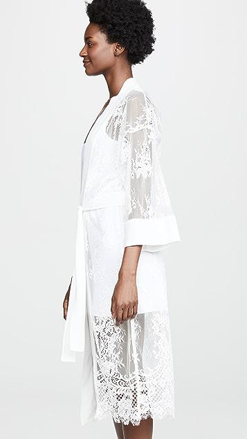Fleur du Mal Lace Robe