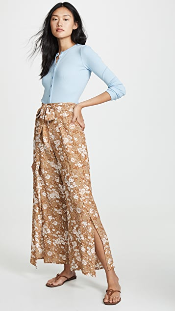 Fleur du Mal 长袖亨利衫式紧身连衣裤